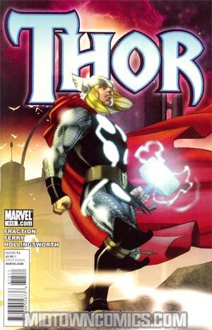 Thor Vol 3 #615 Cover A 1st Ptg Regular Pasqual Ferry Cover (Heroic Age Tie-In)