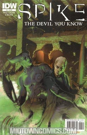 Spike The Devil You Know #4 Regular Franco Urru Cover