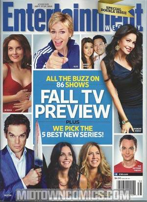 Entertainment Weekly #1120 / 1121 Sept 17 / 24 2010