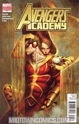 Avengers Academy #5 Incentive JS Rossbach Vampire Variant Cover