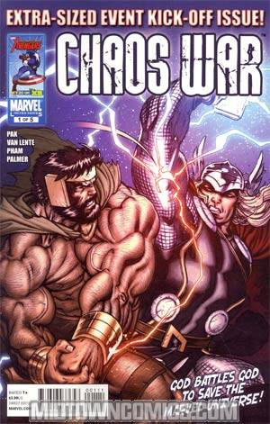 Chaos War #1 1st Ptg Regular Ed McGuinness Cover