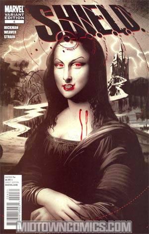 S.H.I.E.L.D. Vol 2 #4 Incentive Mike Mayhew Vampire Variant Cover