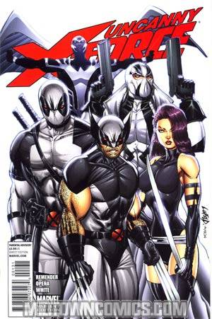 Uncanny X-Force #1 Incentive Rob Liefeld Variant Cover