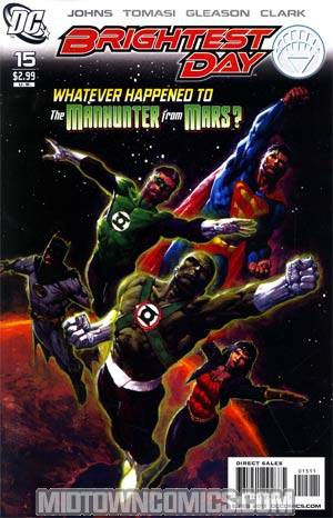 Brightest Day #15 Regular David Finch Cover