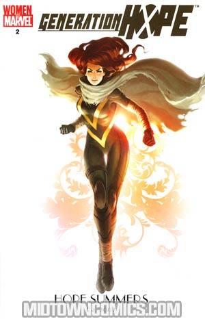 Generation Hope #2 Women Of Marvel Variant Cover