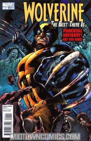 Wolverine The Best There Is #1 Cover A Regular Bryan Hitch Cover