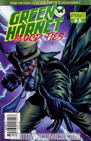 Green Hornet Blood Ties #3 Cover A Regular Johnny Desjardins Cover