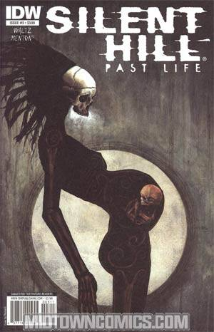 Silent Hill Past Life #3 Cover A Regular Menton3 Cover
