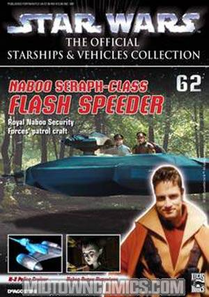 Star Wars Official Starships And Vehicles Collection Magazine #62 Naboo Flash Speeder