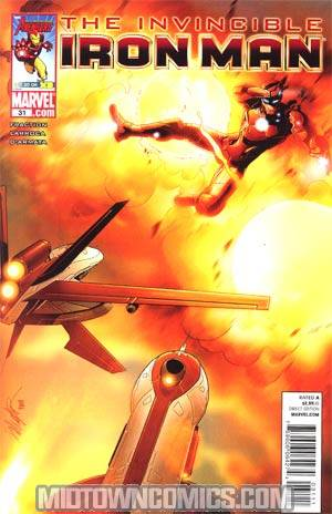 Invincible Iron Man #31 Regular Salvador Larroca Cover