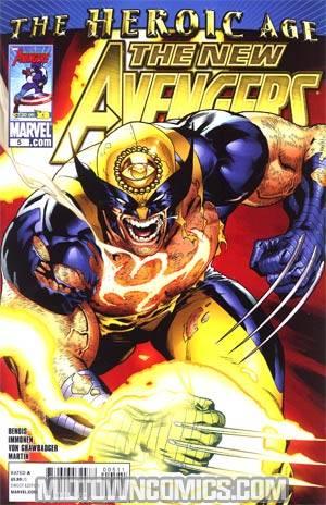 New Avengers Vol 2 #5 Regular Stuart Immonen Cover