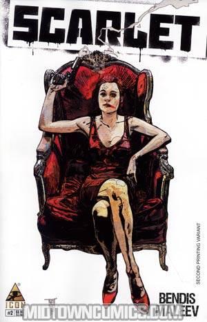 Scarlet #2 2nd Ptg Alex Maleev Variant Cover