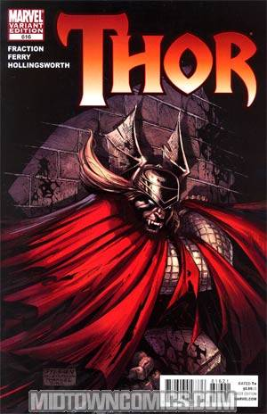 Thor Vol 3 #616 Incentive Ryan Stegman Vampire Variant Cover