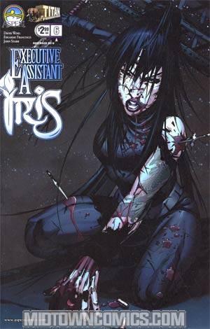 Executive Assistant Iris #6 Eduardo Francisco Cover