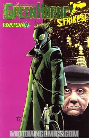 Green Hornet Strikes #4 Cover A Regular John Cassaday Cover