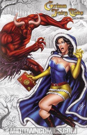 Grimm Fairy Tales #50 DF Exclusive Winter Demon Variant Cover