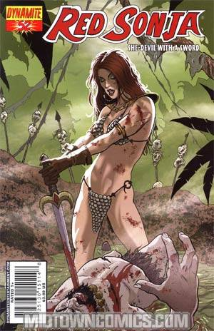 Red Sonja Vol 4 #52 Marc Wolfe Cover