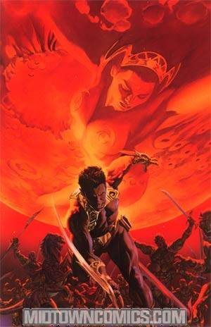 Warlord Of Mars #1 Incentive Alex Ross Virgin Cover