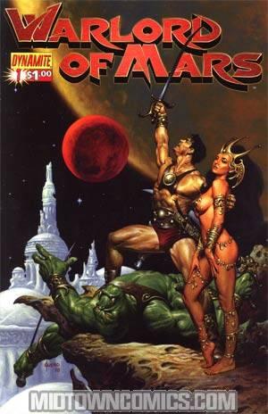 Warlord Of Mars #1 Regular Joe Jusko Cover