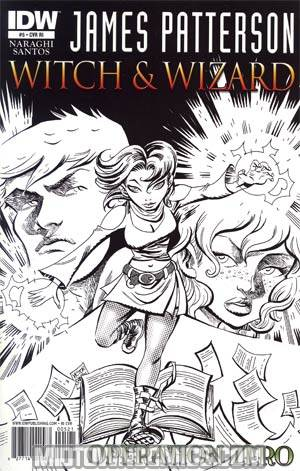 James Pattersons Witch & Wizard #5 Operation Zero Incentive Victor Santos Sketch Cover