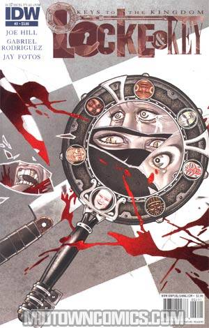 Locke & Key Keys To The Kingdom #2 Regular Gabriel Rodriguez Cover