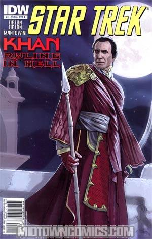 Star Trek Khan Ruling In Hell #1 Cover A
