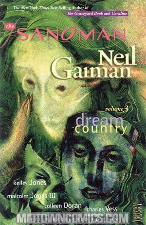 Sandman Vol 3 Dream Country TP New Edition