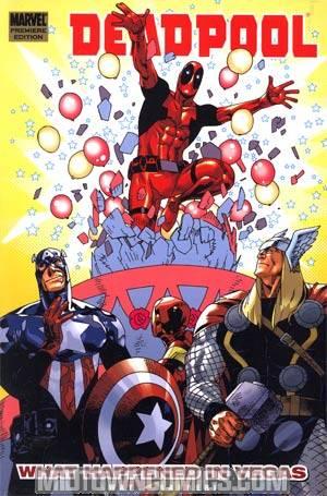 Deadpool Vol 5 What Happened In Vegas HC
