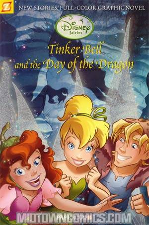 Disney Fairies Featuring Tinker Bell Vol 3 Tinker Bell And The Day Of The Dragon TP