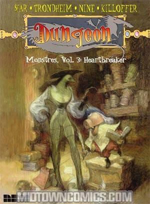 Dungeon Monstres Vol 3 Heartbreaker TP