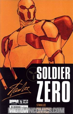 Stan Lees Soldier Zero #1 Cover B Dave Johnson