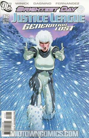 Justice League Generation Lost #12 Incentive Kevin Maguire Variant Cover (Brightest Day Tie-In)