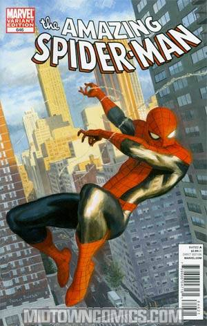 Amazing Spider-Man Vol 2 #646 Cover B Incentive Paolo Rivera Spidey vs Variant Cover