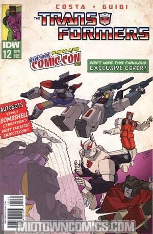 Transformers Vol 2 #12 NYCC 2010 Apocalypse Comics Exclusive X-Men 1 Homage Cover