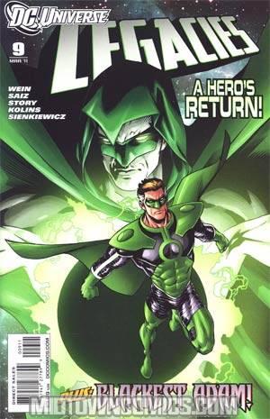 DC Universe Legacies #9 Cover A Regular Jesus Saiz Cover
