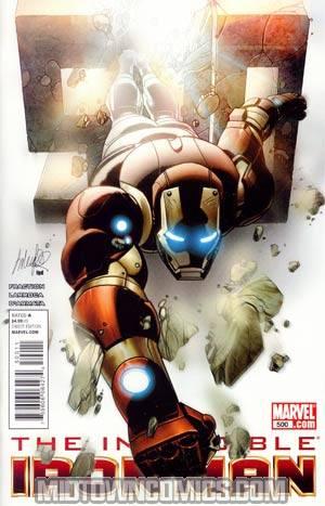 Invincible Iron Man #500 Cover A 1st Ptg Regular Salvador Larroca Cover
