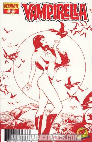 Vampirella Vol 4 #2 DF Exclusive Limited Edition Variant Cover