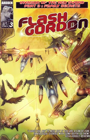 Flash Gordon Invasion Of The Red Sword #3 Cover B