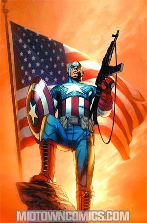 Ultimate Captain America By Ron Garney Poster