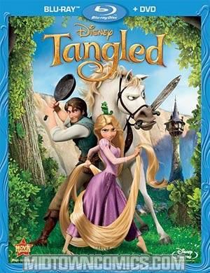 Tangled 2-Disc Blu-ray Combo DVD