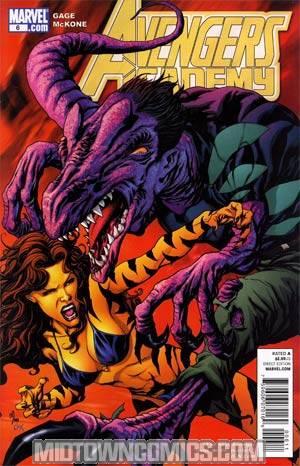 Avengers Academy #6 Regular Mike McKone Cover