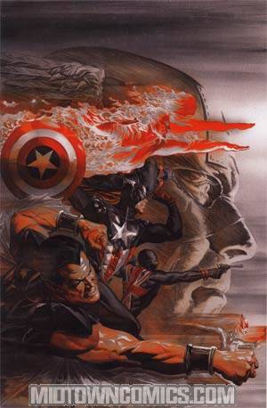 Invaders Now #2 DF Exclusive Alex Ross Virgin Cover