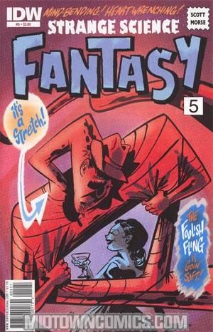 Strange Science Fantasy #5 Regular Scott Morse Cover