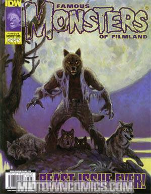 DO NOT USE (DUPLICATE LISTING) Famous Monsters Of Filmland #252 Incentive William Stout Variant Cover