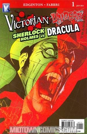 Victorian Undead II Sherlock Holmes vs Dracula #1