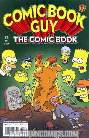 Comic Book Guy The Comic Book The Collectors Edition #5