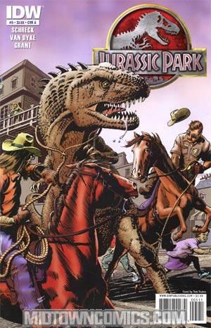 Jurassic Park Redemption #5 Regular Cover A
