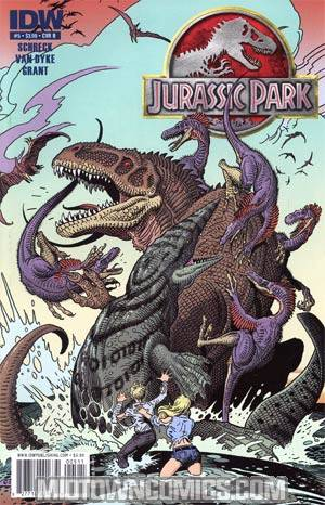 Jurassic Park Redemption #5 Regular Cover B