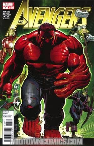 Avengers Vol 4 #7 Cover A Regular John Romita Jr Cover
