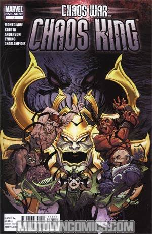 Chaos War Chaos King #1